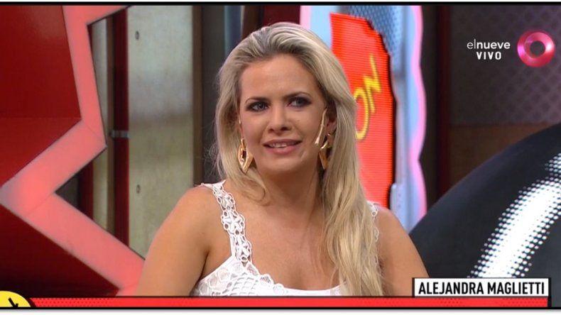 Alejandra Maglietti contó su vida de soltera: Después de separarme de Jonás Gutiérrez estuve con dos hombres en la cama
