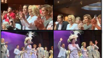 la incansable mirtha legrand fue a ver hello dolly