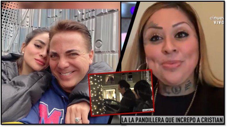 Escracharon a Cristian Castro: Una joven lo increpó a los gritos mientras el cantante estaba con su novia