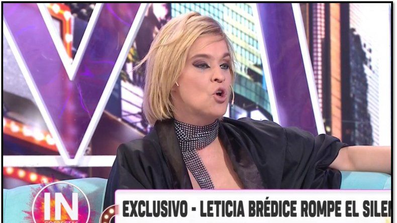 La respuesta de Leticia Brédice a su padre: No soy falsa, no siento a su hija como mi hermana
