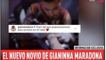 ¿Quién es el nuevo novio de Gianinna Maradona?