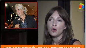 martina soto pose no se achica contra pettinato: lo llamo abusador y pide una condena social