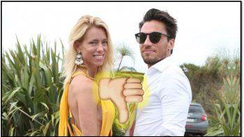 nicole neumann perdio las chances de volver con su ex, matias tasin: el volvio con una novia anterior