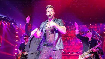 Ricky Martin hizo delirar al público en su primer show