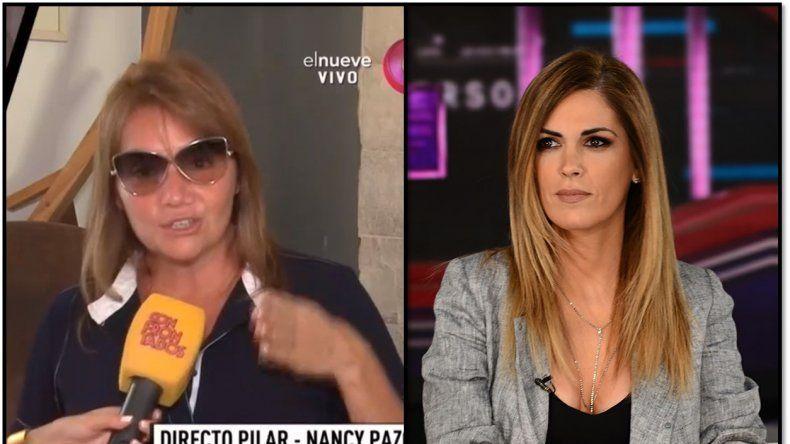Nancy Pazos letal: En Canal 9 cuando tuvieron que hacer un programa periodístico se lo dieron a Canosa