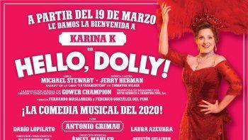 Lucía Galán en guerra con Karina K en el final de Hello Dolly