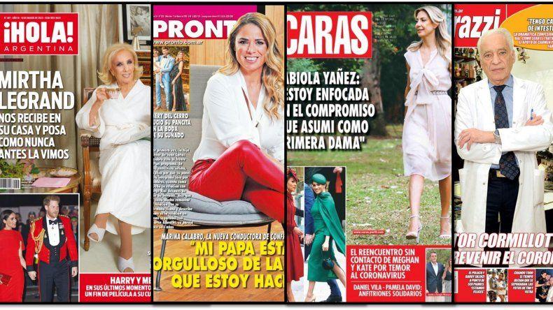 Mirtha Legrand abrió las puertas de su casa y las demás revistas de la semana