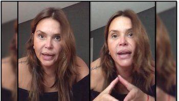 Nazarena Vélez una vez más tuvo que salir a dar explicaciones y explotó en un video