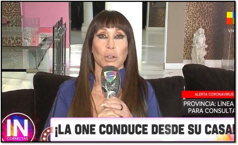 En tiempos de Coronavirus Moria Casán conduce desde su casa: Soy una mujer de más de 65 años y...