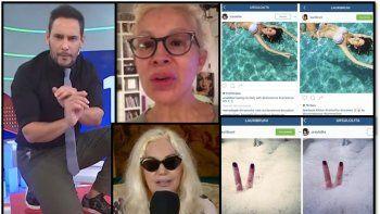 escandalones: divas a la deriva casi peladas y mas famosas roba fotos en las redes