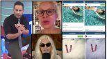 Escandalones: Divas a la deriva casi peladas y más famosas roba fotos en las redes