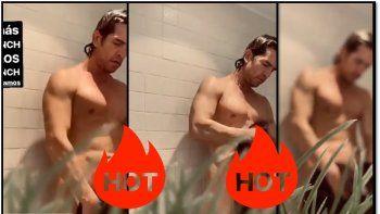 muscari publico un video de diego ramos desnudo para acompanar la cuarentena