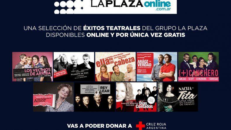 Lanzamiento de la temporada teatral La Plaza online