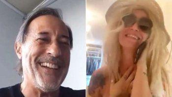 Casados con hijos en cuarentena: Moni y Pepe se volvieron a encontrar