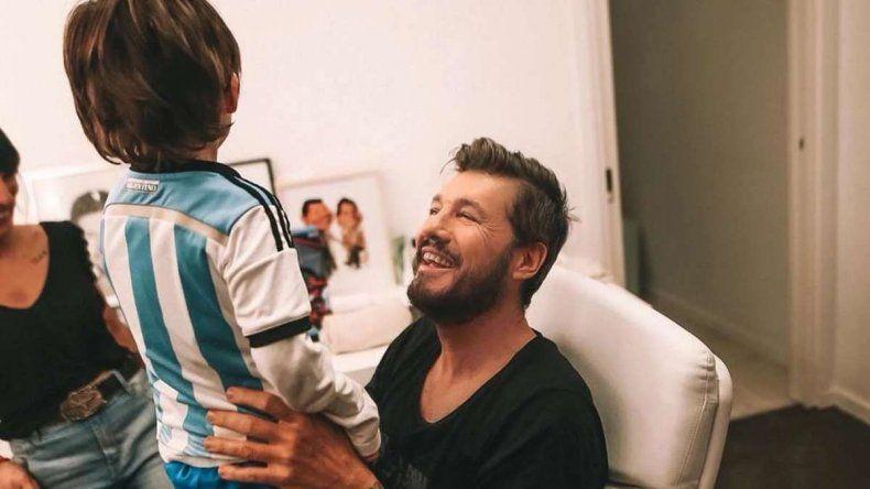 El paseo de Marcelo Tinelli con Lolo en el primer día de las salidas recreativas