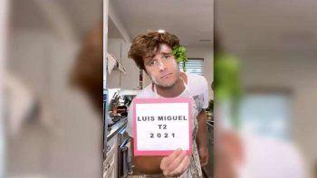 diego boneta anuncio la fecha de estreno en netflix de luis miguel, la serie