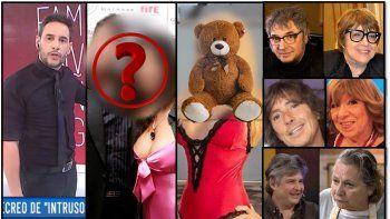 escandalones: mas fotos de famosos viejas; una vedette obsesionada con los peluches; una pareja en crisis y los cruces de tini y yatra