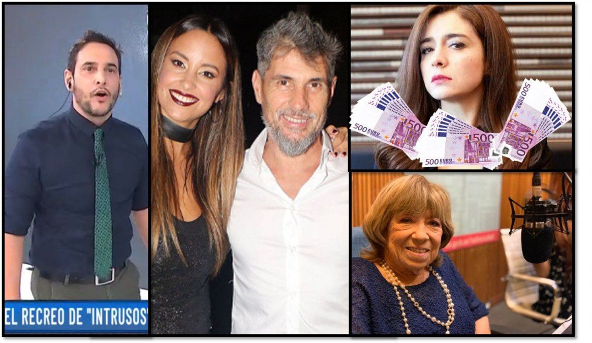 Escandalones: Los 40 mil euros de Érica Rivas; el video oculto de Fanny Mandelbaum y la pareja sin sexo en cuarentena