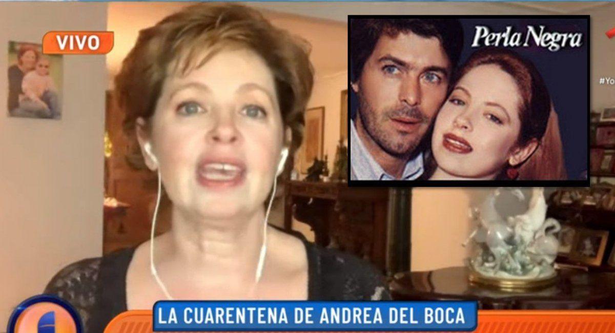 Andrea del Boca volverá a hacer Perla Negra, pero su hija hará de ella y ella hará de la mala