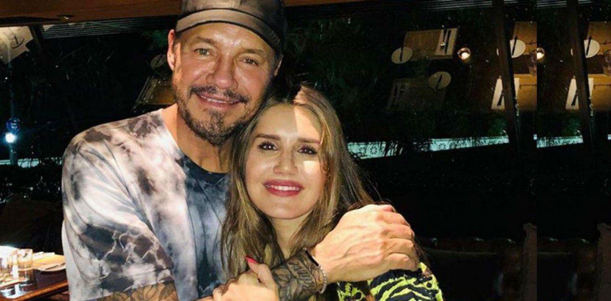 Micaela Tinelli salió en defensa de su padre: La cuarentena les esta pegando mal