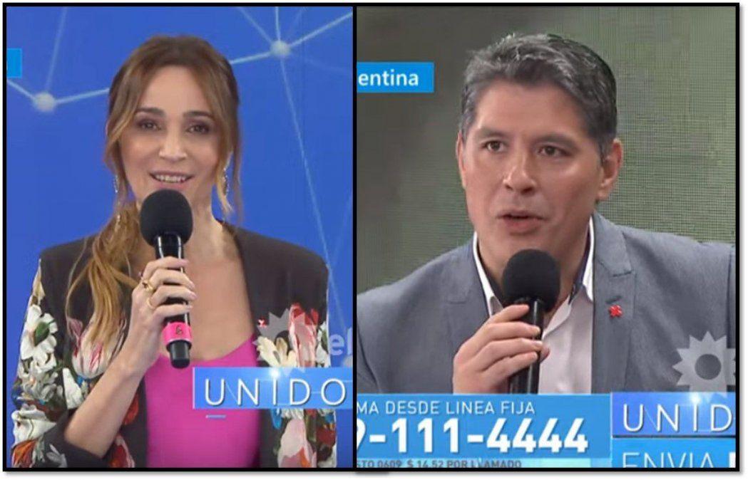 Vero Lozano chicaneó a Guillermo Lobo en vivo: Ah, vos no sos doctor... ¿yo me la comí?