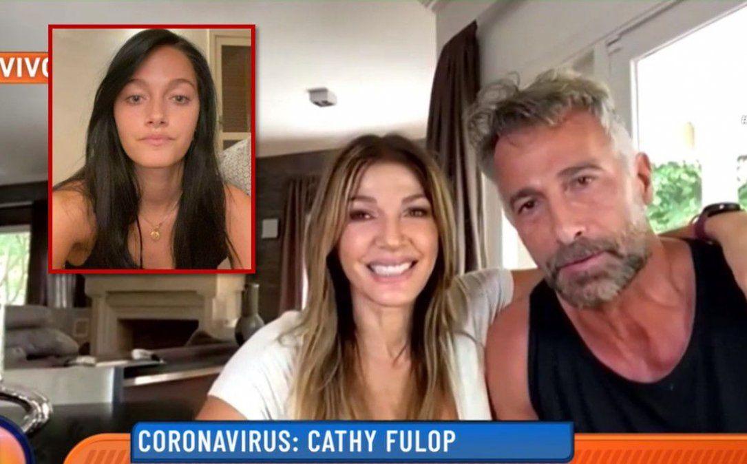 Cathy Fulop relató cómo fue el momento en el que su hija Oriana le contó que tenía coronavirus