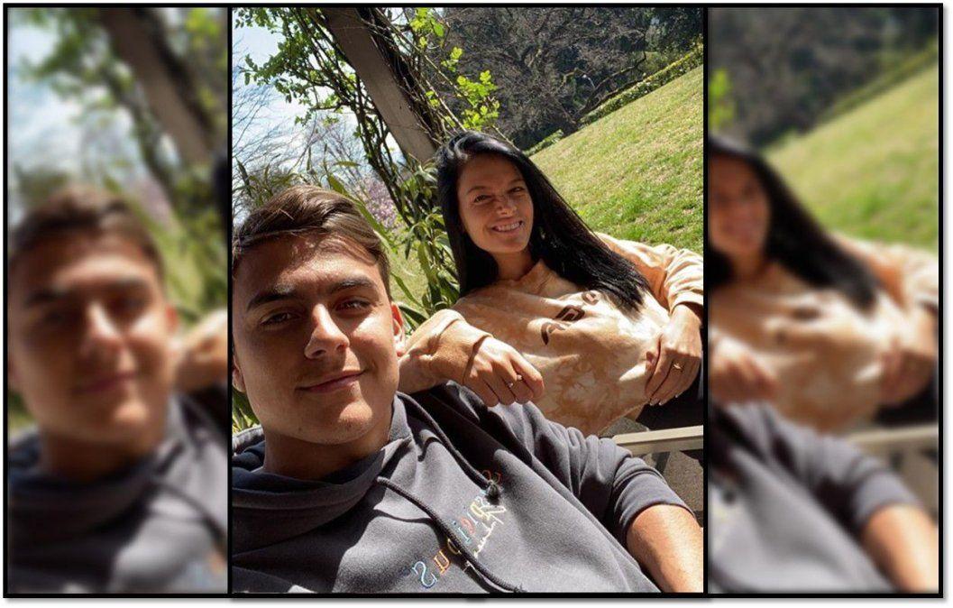 Oriana Sabatini y Paulo Dybala confirmaron que dieron positivo de coronavirus