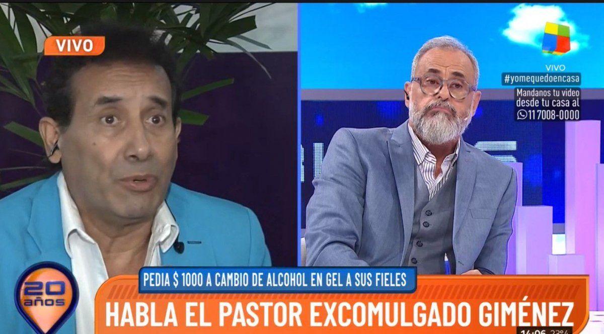 Tenso móvil entre el Pastor Giménez y Rial: polémicas declaraciones y discusión