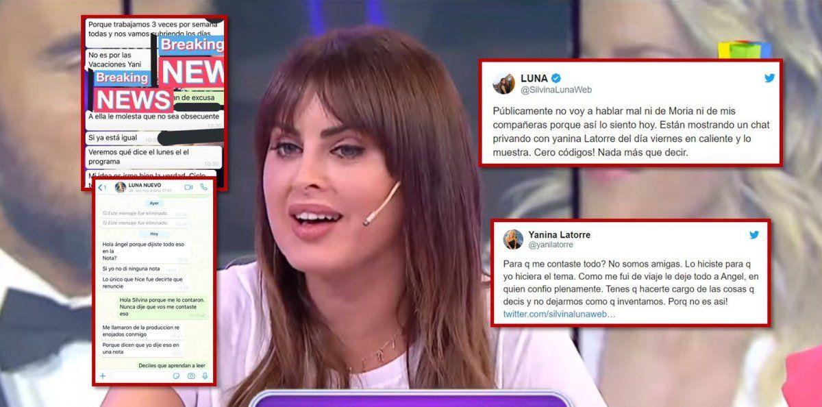 Guerra Incorrecta: La renuncia de Silvina Luna desató un conflicto de panelistas
