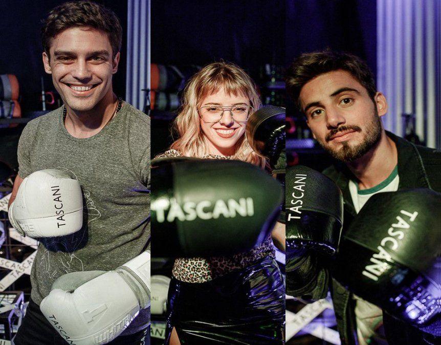 Tascani lanzó su nueva colección, con la presencia de varios famosos