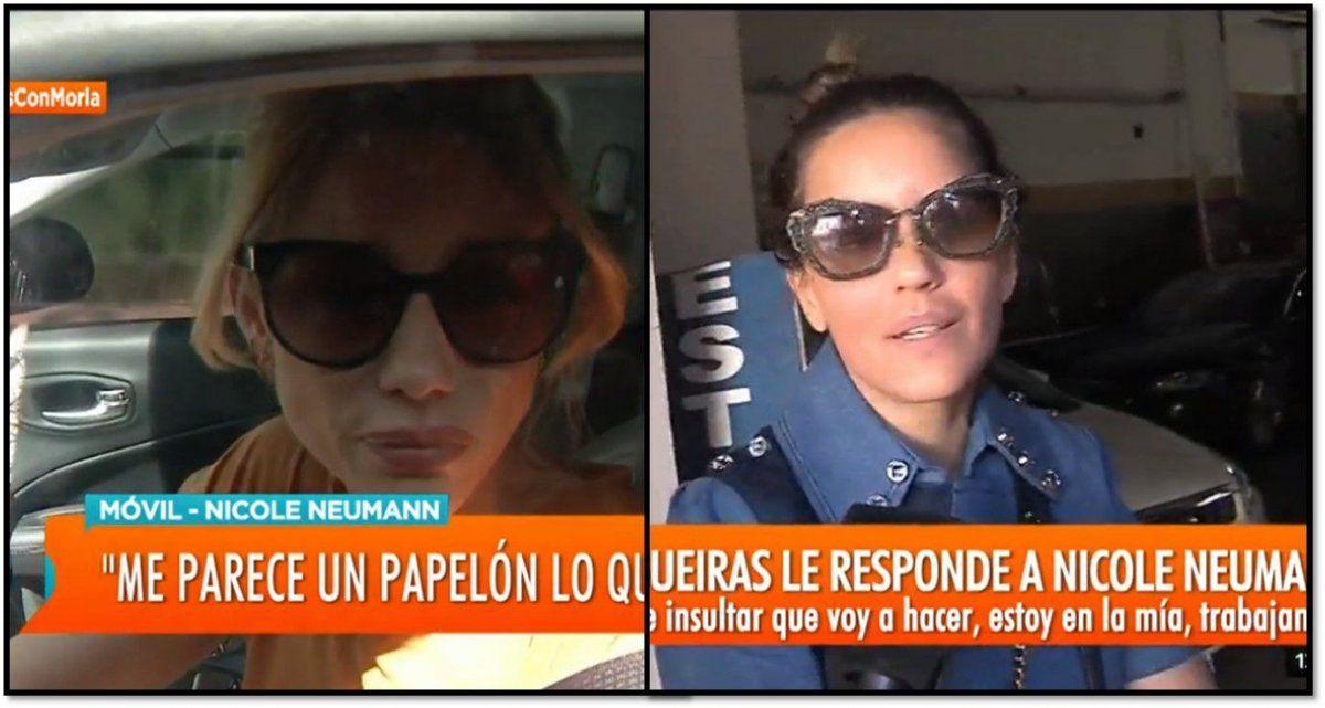 Nicole desmiente rumores de separación y se suma Ivana Figueiras: No es sana, está para chaleco de fuerza