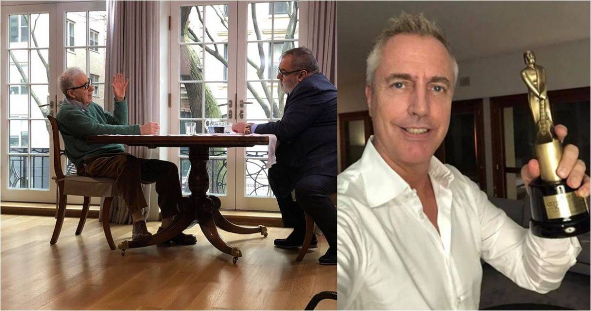 Woody Allen, el arma secreta de Jorge Lanata para ganarle a Marley y los Martín Fierro