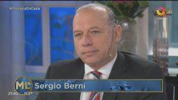 Sergio Berni confirmó en La noche de Mirtha sus aspiraciones presidenciales