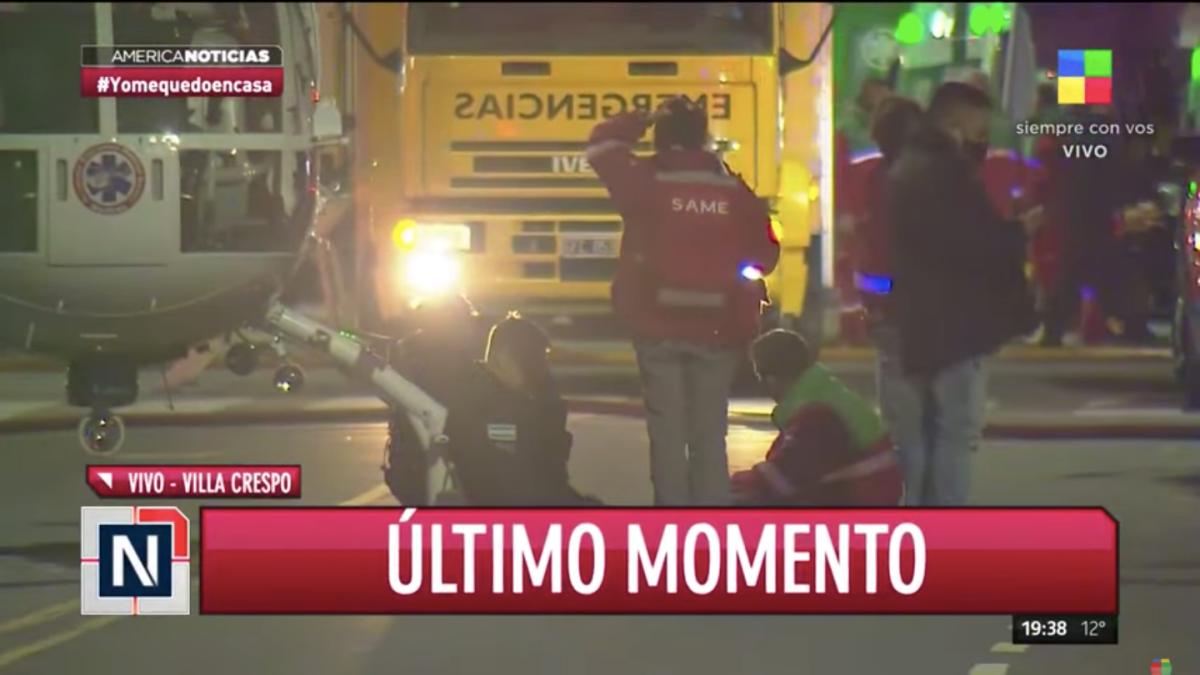 Acaban de sacarlo muerto: los estremecedores audios de los bomberos tras las explosión en Villa Crespo