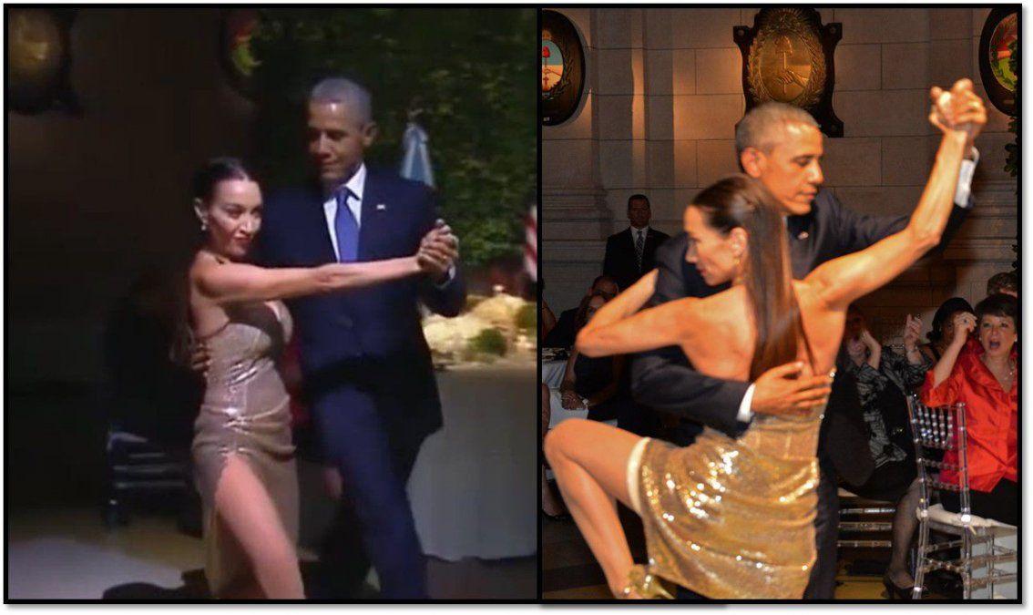 Mora Godoy reveló que no le pagaron el show en donde bailó con el presidente Obama