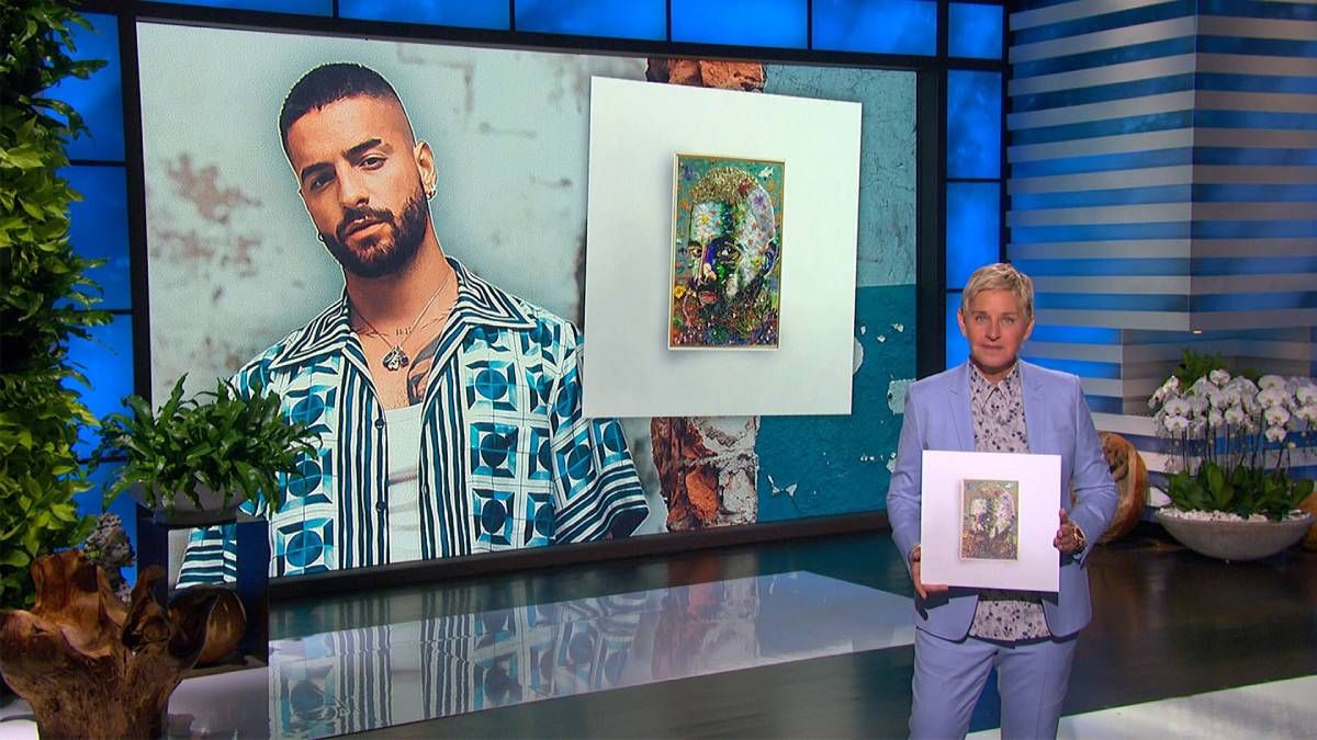 ¡Se sinceró! Maluma le dijo de todo a Ellen DeGeneres