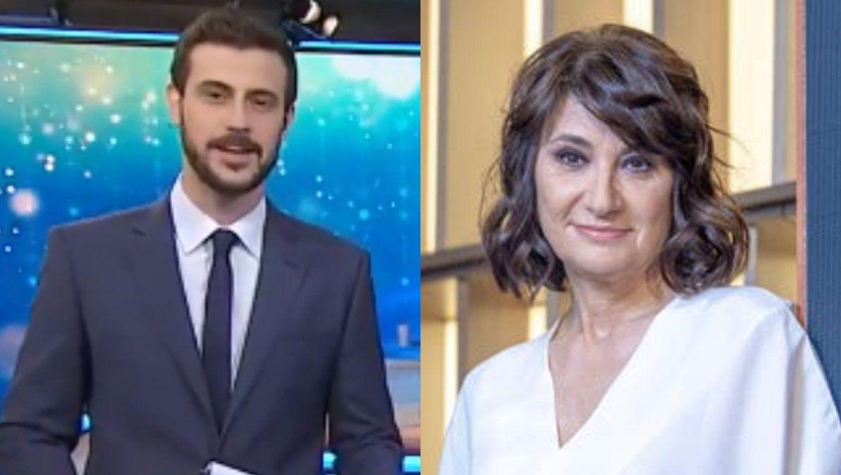 Diego Leuco criticado por la despedida a María Laura Santillán