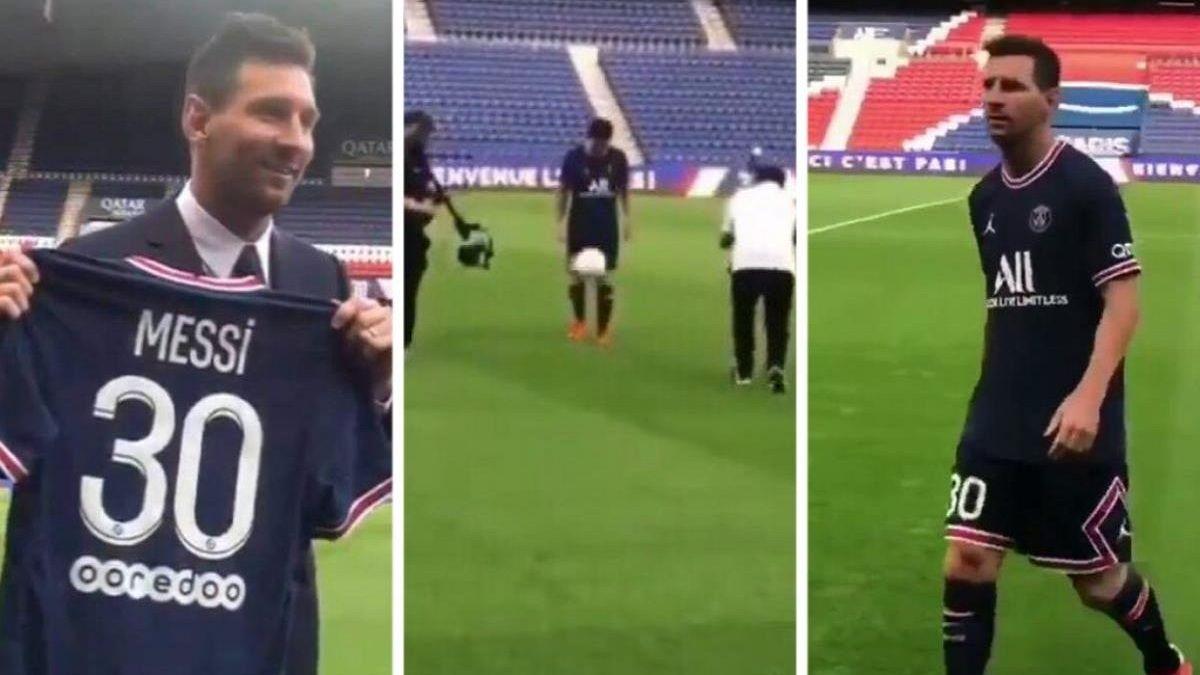 El romántico motivo por el cual Messi se quedó con el 30 en la camiseta del PSG
