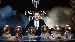 Lionel Messi fue el ganador de la edición anterior del Balón de Oro, que entrega la prestigiosa revistaFrance Football