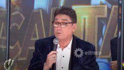 Oscar Mediavilla le puso los puntos al locutor del Cantando
