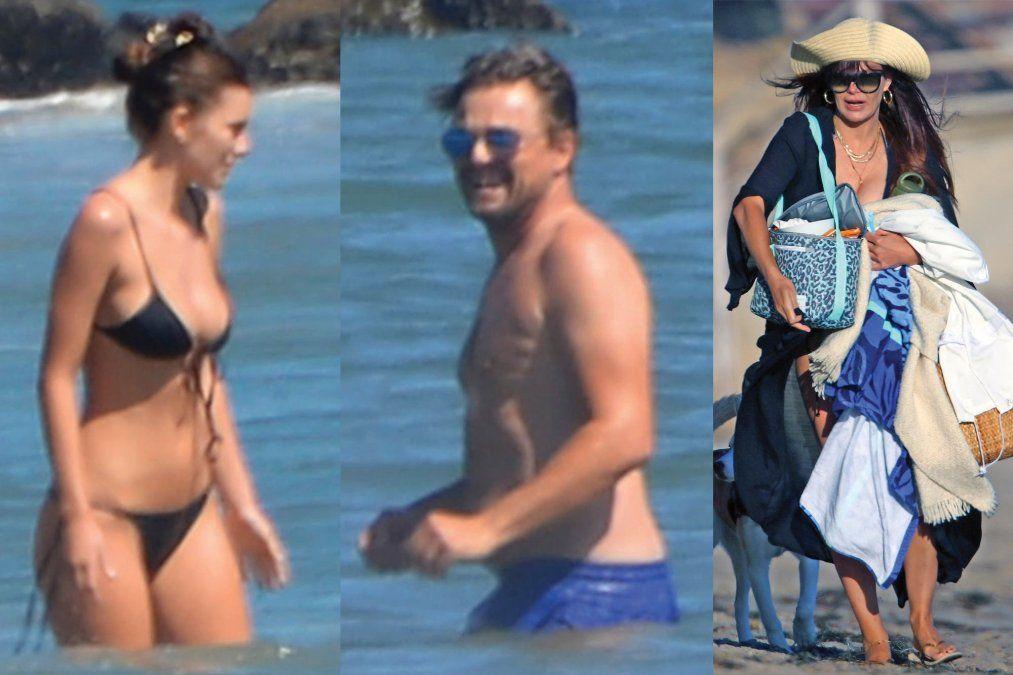 Leo Dicaprio salió de paseo con su novia y su suegra