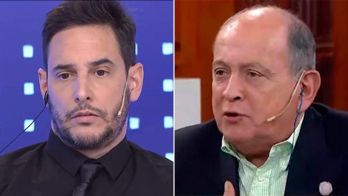 Rodrigo Lussich angustiado por la internación de Chiche