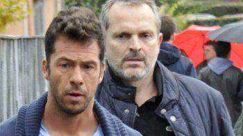 Miguel Bosé y Nacho Palau, enfrentados en juicio por sus hijos