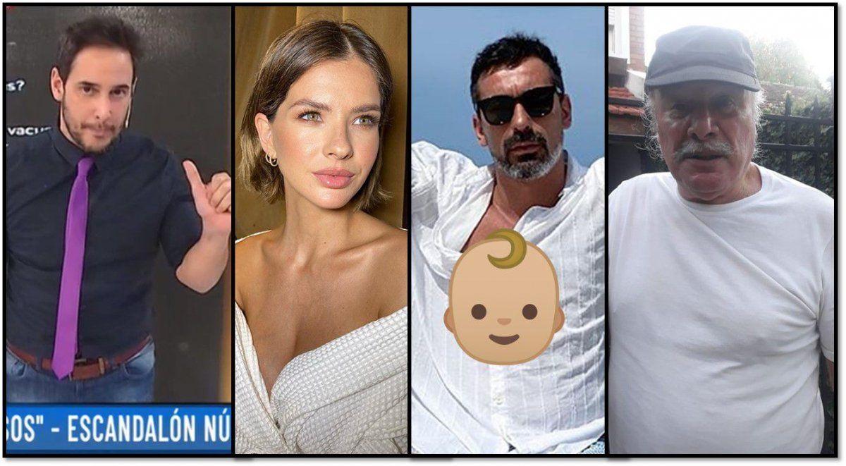 Escandalones: La China Suárez tendrá un varón; Pocho Lavezzi será papá; el odio de Borghi y Pepe Gil Vidal en TN y el nuevo look de un actor