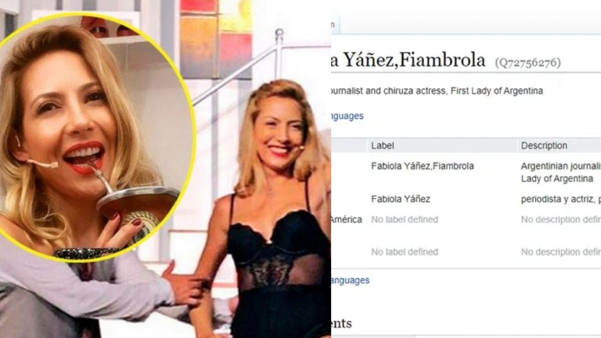 Fabiola Yáñez pasó a llamarse Fiambrola por unas horas