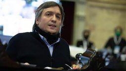 Hacen publicidad en los medios: Máximo Kirchner apuntó contra quienes quieren irse del país