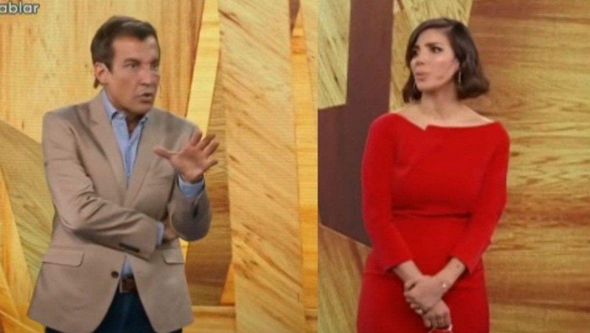 Paulo Vilouta habló de su cruce con Andrea Rincón