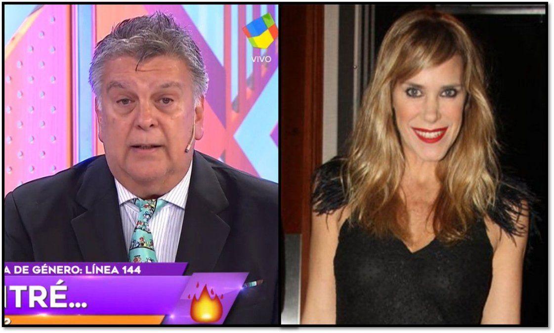 Luis Ventura, sacado, le respondió a Marcela Baños