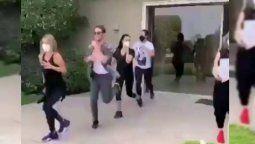 ¡Los vieron! RBD y el video de sus ensayos