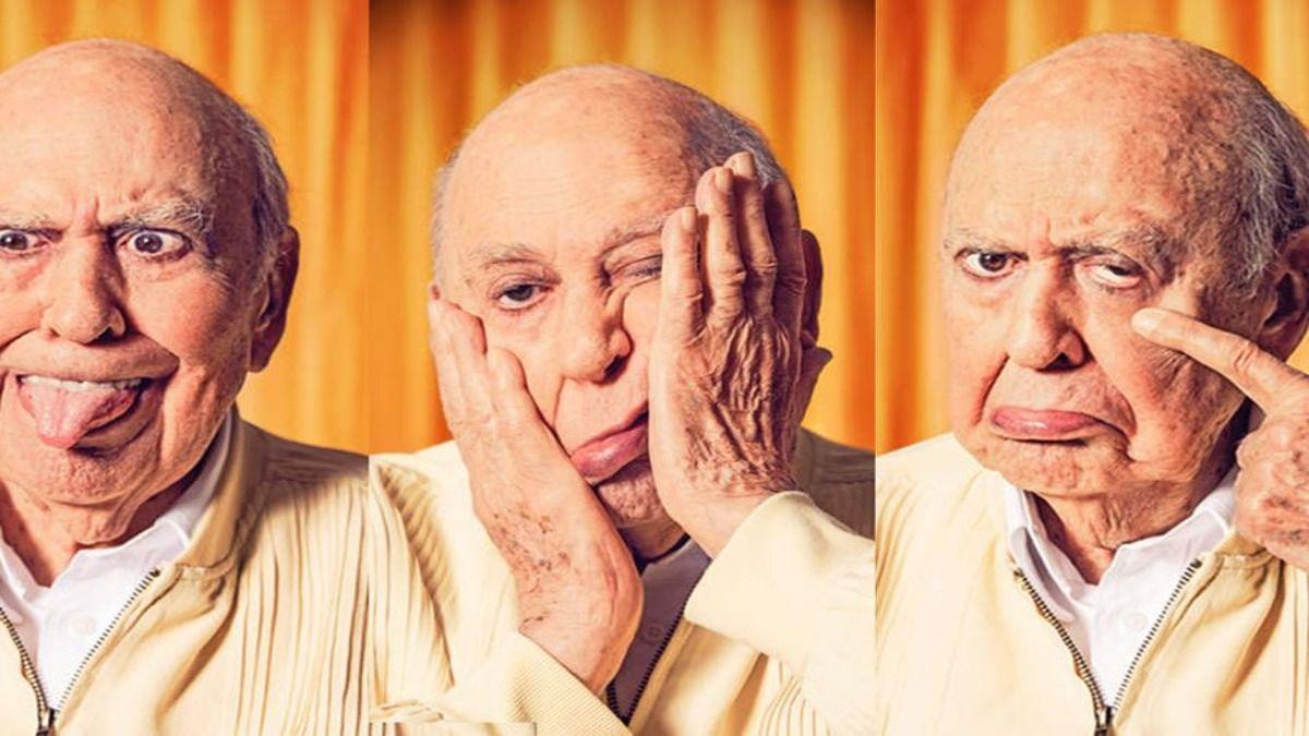 El actor y comedianteCarl Reiner